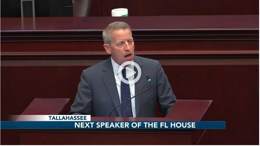 Attorney and Navy veteran named Speaker Designate of the Florida House